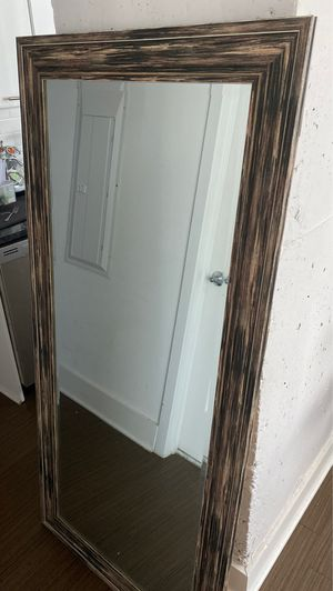 Large Wooden Mirror (Brand New) for Sale in Washington, DC