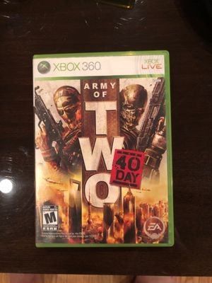 Army of two 40 day Xbox 360 game for Sale in Dallas, TX