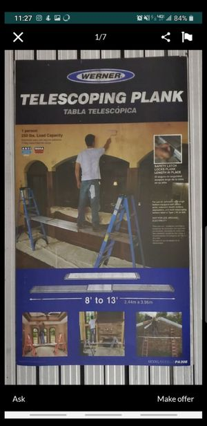 Werner Jack stands Ladders base extension painter Pole. for Sale in Newport Beach, CA