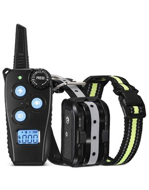 Dog Training Collar, Newest Dog Shock Collar with 1000 ft Remote, Beep, Vibration and Shock 3 Training Modes for Small Medium and Large Dogs, Waterpr for Sale in Norco, CA