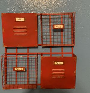Wall Organizer (weathered locker) for Sale in Fresno, CA