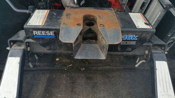 Reese 16k 5th wheel receiver