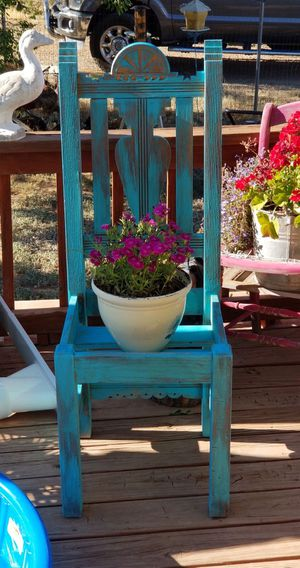 custom high chair, hand painted jewelry boxes, fun vintage treasures! for Sale in Moriarty, NM