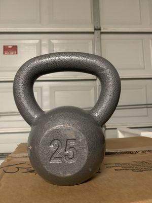 25lb kettle bell for Sale in Reynoldsburg, OH