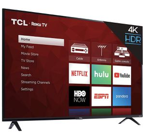 TCL 50 inch 4K Smart LED Roku TV (2019) for Sale in Triangle, VA