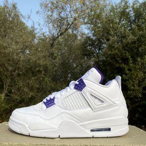 Jordan 4 metallic Purple for Sale in Watsonville, CA