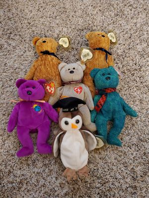 6 beanie babies for Sale in Louisville, KY