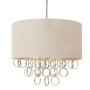 HAMPTON BAY 3-LIGHT CASCADING RING POLISHED NICKEL PENDANT for Sale in Fresno, CA
