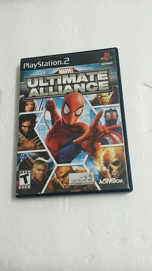 Marvel Ultimate Alliance, PS2 for Sale in Jamul, CA