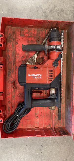 Hilti TE55 Rotary Hammer Drill with 2 Bits for Sale in Revere, MA