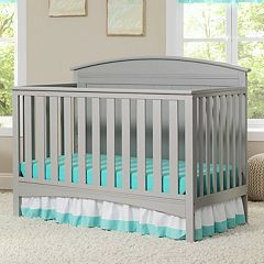 Gray Crib With New Mattress for Sale in Tarpon Springs,  FL