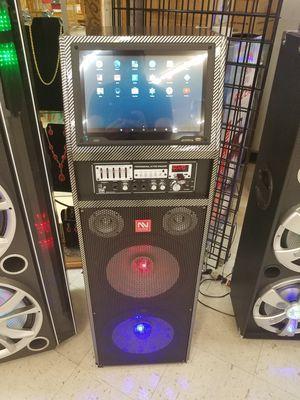 """Touch screen wifi karaoke Speaker Bluetooth 12"""" for Sale in Dallas, TX"""