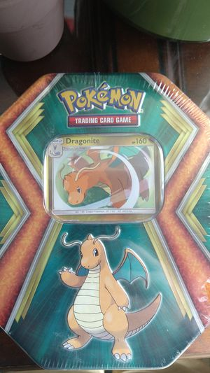 POKEMON:Dragonite tin box (sealed) Retail price goes for $22. Open to any offers for Sale in Fresno, CA