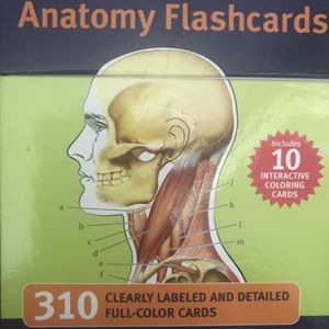 Anatomy Flashcards 310 Count for Sale in Fort Lauderdale, FL