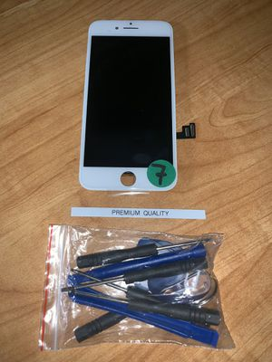 New iPhone 7 LCD Screen White for Sale in Los Angeles, CA