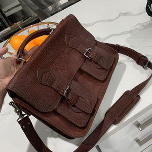 Buffalo Jackson Bison leather new messenger bag for Sale in Hialeah, FL