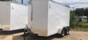 Cargo 6x12 w rear barn door for Sale in Dallas, TX