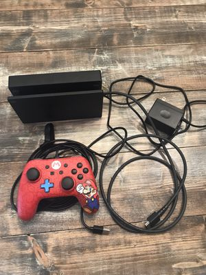 Nintendo Switch Charger Docking Station & controller for Sale in Davie, FL