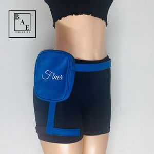 Blue Waist Bag with Adjustable and Removable Straps for Sale in Plantation, FL