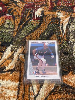 Larry Walker Leaf Expos Card for Sale in Fort Washington,  MD