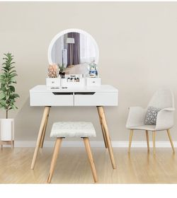 Vanity Table ONLY *stool not Included* for Sale in Philadelphia,  PA