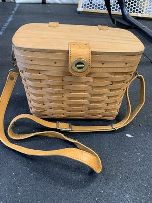 Longaberger Purse pre-owned see pics! for Sale in Orange, CA