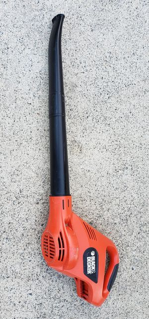 Black & Decker 18V Cordless Leaf Blower NS118 Works Tool Only No Battery for Sale in Lake Elsinore, CA