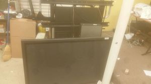 Panasonic 60 inch tv with stand built on speakers for Sale in Pelham Manor, NY