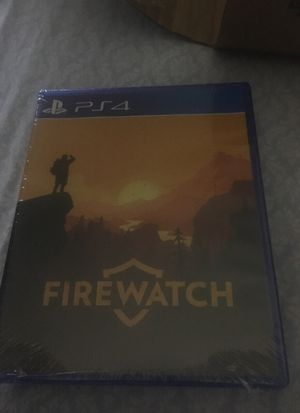 FIREWATCH LIMITED EDITION PS4 for Sale in San Francisco, CA