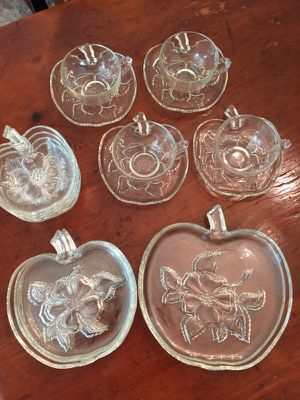 Vintage Hazel Glassware for Sale in Alexandria, VA