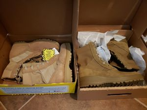 Military grade work boots for Sale in Manor, TX
