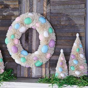 """12"""" Easter Egg Bottlebrush Wreath by Valerie for Sale in Pompano Beach, FL"""