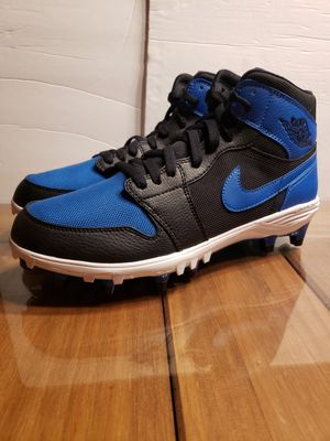 JORDAN RETRO 1 TD MID ROYAL FOOTBALL CLEATS MENS...SZ 9...BRAND NEW for Sale in Bakersfield, CA