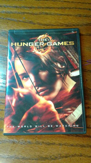 Hunger games dvd for Sale in Murfreesboro, TN