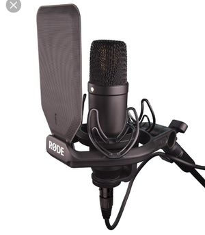 Rode nt1 microphone for Sale in Detroit, MI