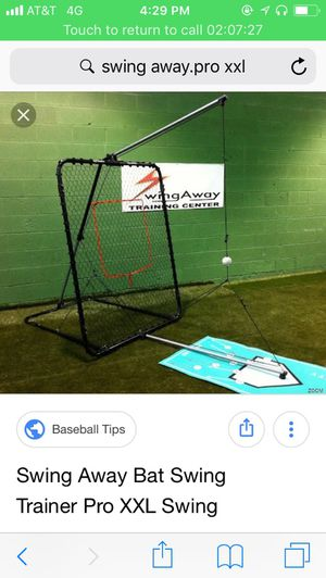 Swing away pro XL —Baseball batting trainer for Sale in Raleigh, NC