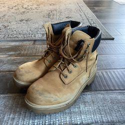 Timberland PRO Series Men's Steel Toe Waterproof Boots Wheat Nubuck Size 11 M for Sale in Las Vegas,  NV