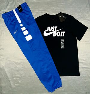 NIKE TEE & NIKE TRACK PANTS. MAKE A OFFER for Sale in Dallas, TX