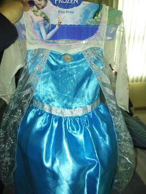 Elsa dresses size 4-6 for Sale in Fall River, MA