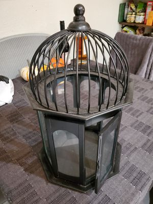 Terrarium birdcage plant holder for Sale in San Francisco, CA