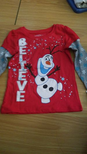 Olaf frozen shirt size 3t for Sale in Miami, FL