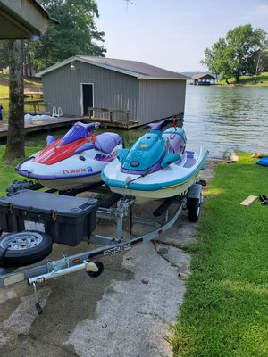 Jet skis and trailer for Sale in Murfreesboro, TN