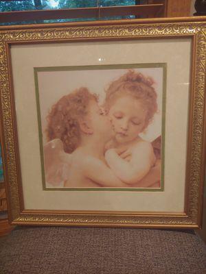 Three Angel Cherub Frames Art for Sale in Pine Springs, MN