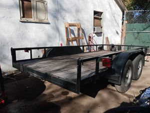 Utility trailer new tires bill of sell only as is for Sale in San Bernardino, CA
