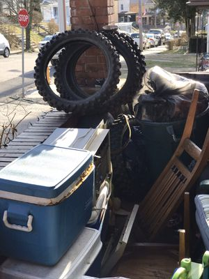 Dirt bike tires110-90-19 for Sale in Pittsburgh, PA