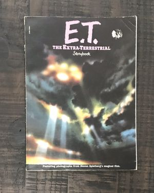 ET The Extra Terrestrial Movie Storybook Scholastic Book Vintage 1982 for Sale in Port St. Lucie, FL