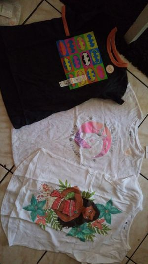 Girls size 10-12 .. new unicorn, moana and batwoman.. all for $ 28 for Sale in Riverside, CA