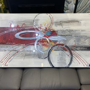 "Aluminum Canvas Wall Art 55""x24"" for Sale in Fort Lauderdale, FL"