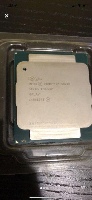 i7-5820k CPU for Sale in Fullerton, CA