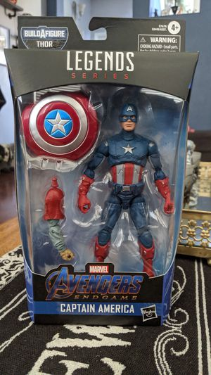 Marvel Legends Endgame Captain America BAF Thor for Sale in Fresno, CA